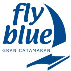 fly blue candado malaga gran catamaran